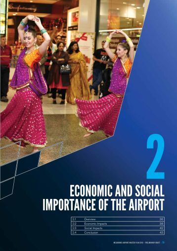 econoMic anD social iMpoRTance of The ... - Melbourne Airport