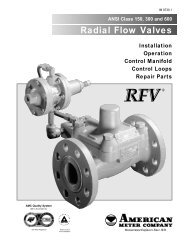 Radial Flow Valves - Gaines Measurement and Control