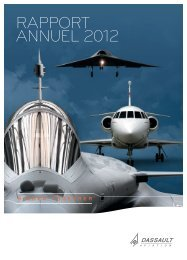Rapport annuel 2012 - application/pdf - (3.39Mo) - Dassault Aviation