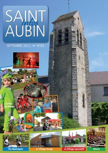 Journal septembre 2011 - Saint-Aubin