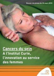 Télécharger le dossier de presse - Institut Curie