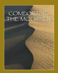 comforting the mourner comforting the mourner - United Synagogue ...