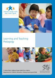 DCELLS FP Teaching Pedagogy report E.indd - Learning Wales