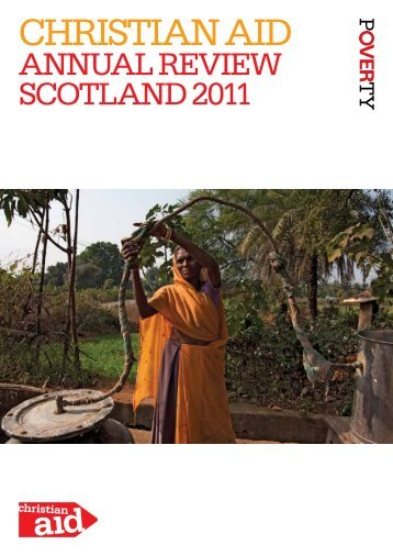 Christian Aid Scotland Annual review 2011