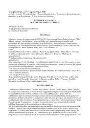 Consiglio di Stato, sez. V, 6 agosto 2012, n. 4518 ... - Ediltecnico