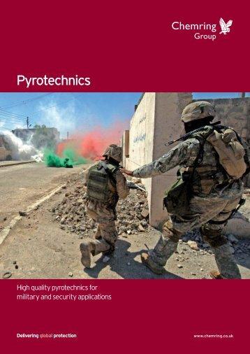 Pyrotechnics - Chemring Group PLC