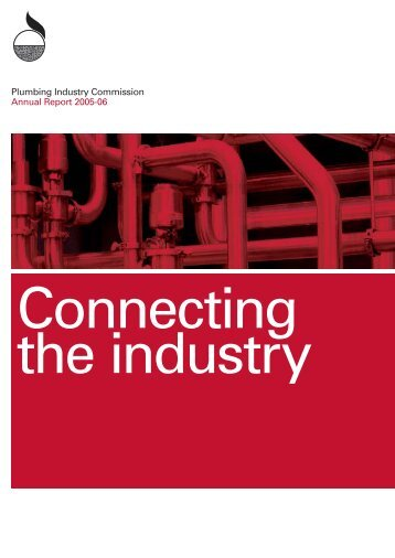 Annual Report 2005-06 - Plumbing Industry Commission