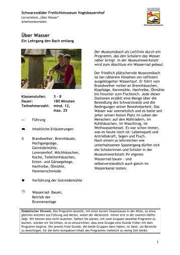 Arbeitsmaterialien - Über Wasser.pdf - Schwarzwälder ...