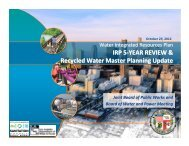 Public Works and DWP Joint Board Mtg 10-29-12 FINAL Presentation