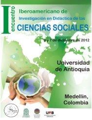 I Encuentro Iberoamericano en Investigación en Didáctica de las ...