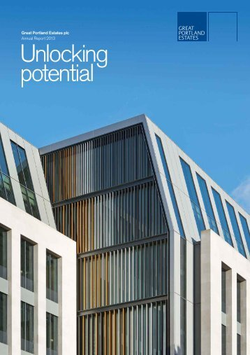 Annual Report - Great Portland Estates