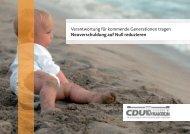Verantwortung für kommende Generationen tragen - CDU ...