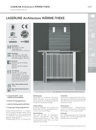 "LASERLINE Architecture WÃ""RME-THEKE - Vogelundnoot.com"