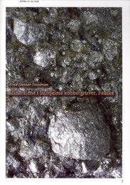Mineralene i Sulitjelma kobbergruver, Fauske pdf - NAGS