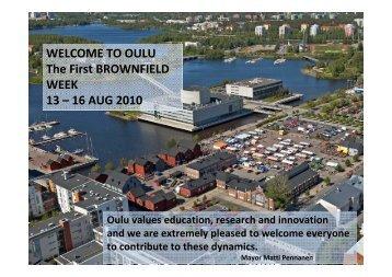 Oulu (pdf) - B-Team Initiative