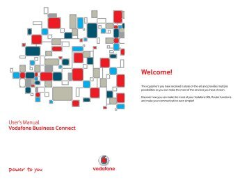 Vodafone Business Connect – Welcome!