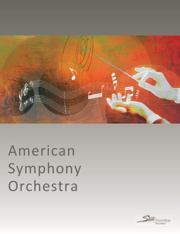 American Symphony Orchestra Keynotes:Layout 1.qxd - State Theatre