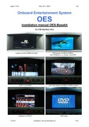 Installation manual OES-Basekit 3.0