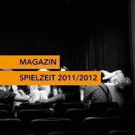Download Spielzeit-Magazin 2011/2012 - Sarah Bansemer