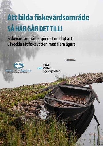 Att bilda fiskevardsomrade