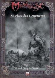 Le Livre des Tourments - Black Book Editions