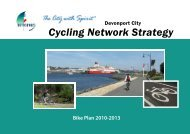 Cycling Network Strategy - Devonport City Council
