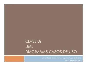 uml diagramas casos de uso - LDC - Universidad Simón Bolívar