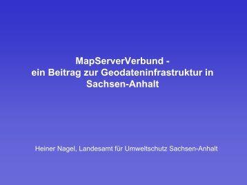 MapServerVerbund - netzwerk | GIS Sachsen-Anhalt