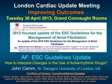 symptoms, ESC guidelines update