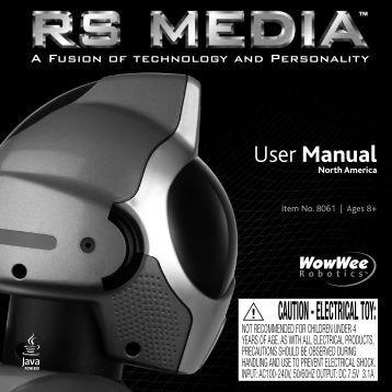 User Manual - WowWee