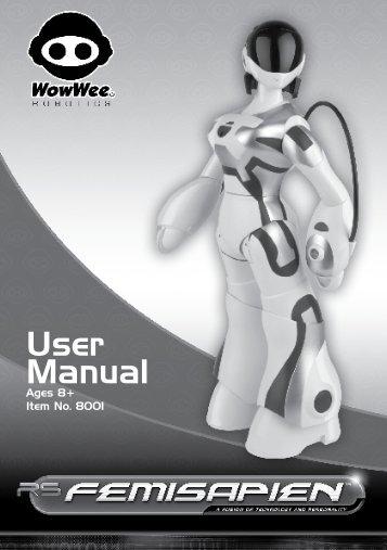 Femisapien Manual - WowWee