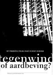 20 | Denkrviizer I april 7013 | Het neoliberalisme voorbii - Economie ...