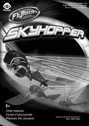 Skyhopper User manual / Guide d'utilisation / Manual del ... - WowWee
