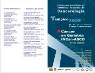 Profesores Extranieros: - Instituto Nacional de Cancerología