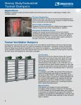 Tunnel Transit Dampers - Greenheck - Page 2