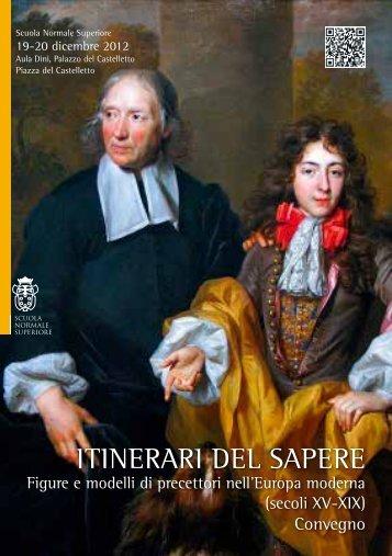 Abstract (PDF) - Scuola Normale Superiore