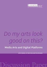Do my arts look good on this? - Creative New Zealand