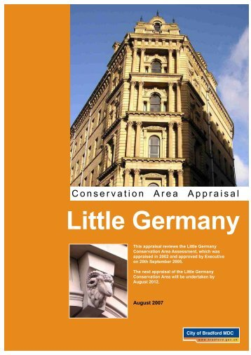 Little Germany - Bradford Metropolitan District Council