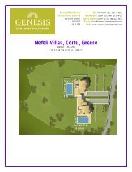 Nefeli Villas, Corfu, Greece - Genesis-investments.com