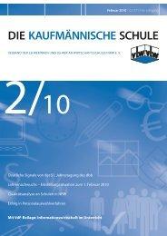 DIE KAUFMÄNNISCHE SCHULE - vLw Stiftung NRW eV