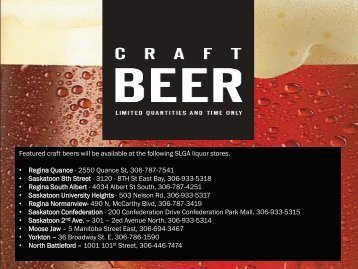 SLGA Craft Beer