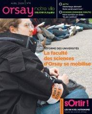 Orsay, notre ville - n°8 avril
