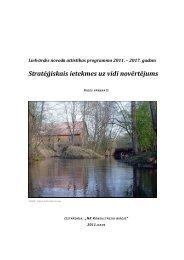 Stratēģiskais ietekmes uz vidi novērtējums - Rīgas Plānošanas ...