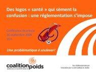 Des logos « santé » qui sèment la confusion : une réglementation s ...