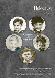 766 HMD Inside06.qxd - Holocaust Education Trust of Ireland
