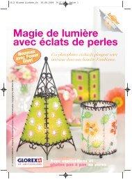 Magie de lumière avec éclats de perles - Glorex