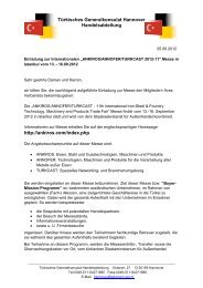 Türkisches Generalkonsulat Hannover Handelsabteilung http ...