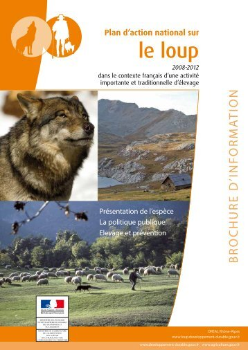 Le PLan d'action nationaL sur Le LouP 2008 – 2012
