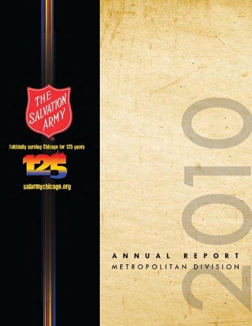 Annual Report - Salvation Army Metropolitan Division
