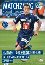 Ausgabe 16 - FC Luzern
